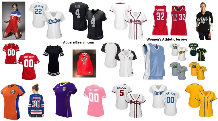 Women's Athletic Jerseys guide and information resource about ...