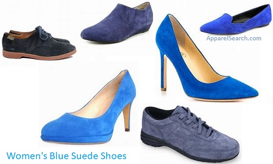 Women's Blue Suede Shoes guide and