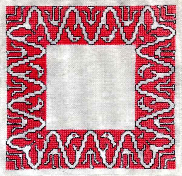 Embroidery fabric meaning makaroka