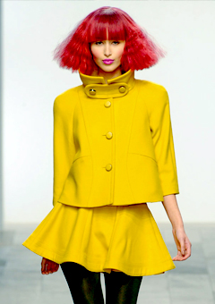2011 Fashion Forecast on Runway Fashion Colour Autumn Winter 2011 12