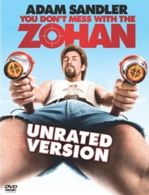 You Dont Mess With The Zohan : Adam Sandler Hair Stylist Movie