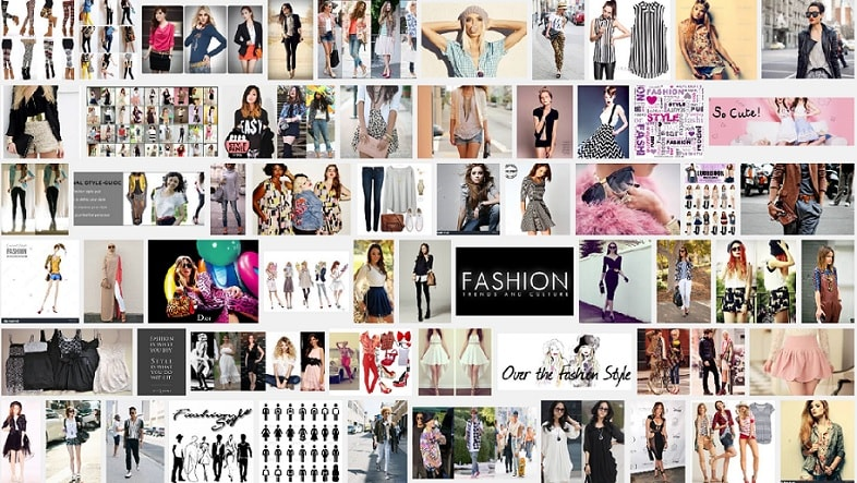 Apparel Search Photo Collage