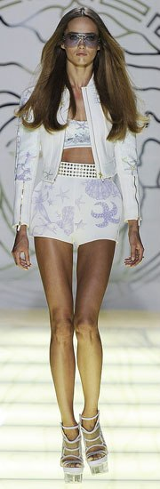 Donatella Versace Spring Collection