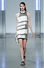 Helmut Lang on the Runway