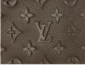 Louis Vuitton Leather Logo