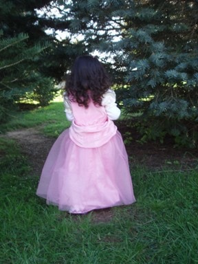 Princess of Fashion at 4 years