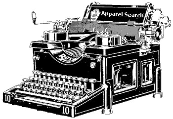 Write about fashion or write apparel industry articles on the Apparel Search type writter
