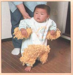 Baby Mop Clothing