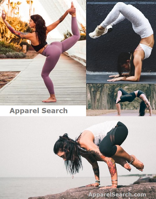 Women's Athletic Fitness Yoga Fashion