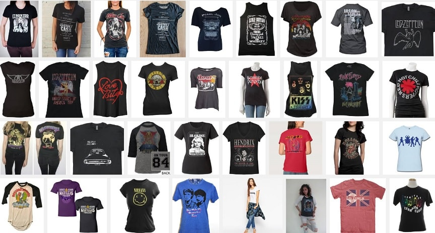 2bb285b9f Concert T-shirt Assortment