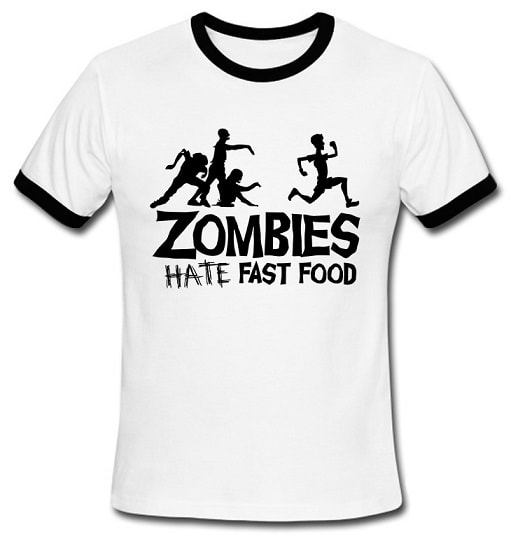 Zombies Hat Fast Food