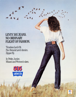 Levis History Of Women S Jeans Levi Strauss Amp Co