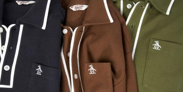Munsingwear original penguin division of perry ellis for Golf shirt with penguin logo
