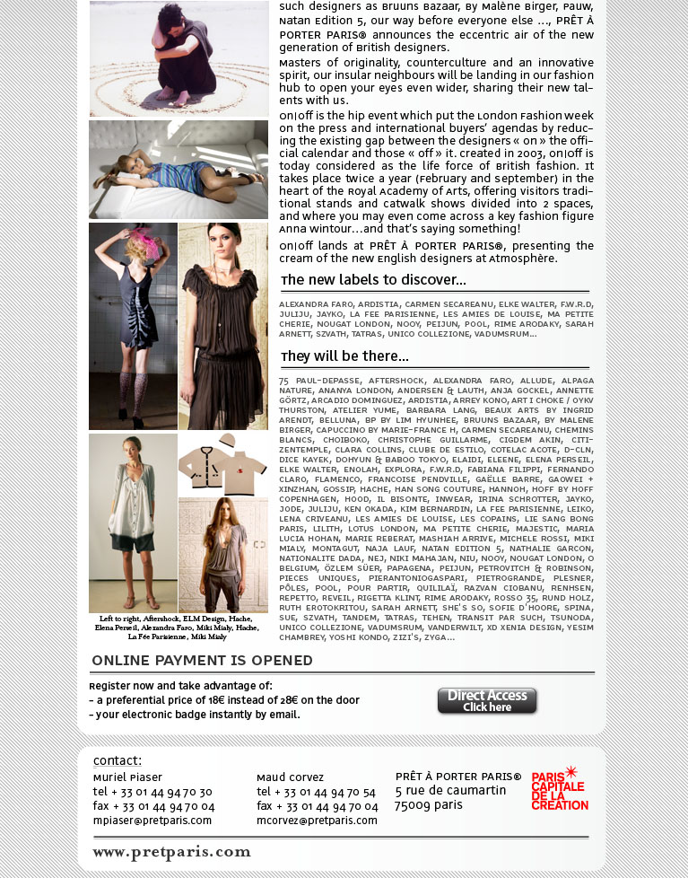 fashion trendy articles or reviews 2012