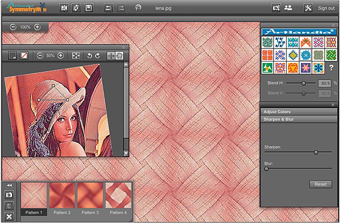 Artlandia SymmetryMill Pattern Design Software Launch