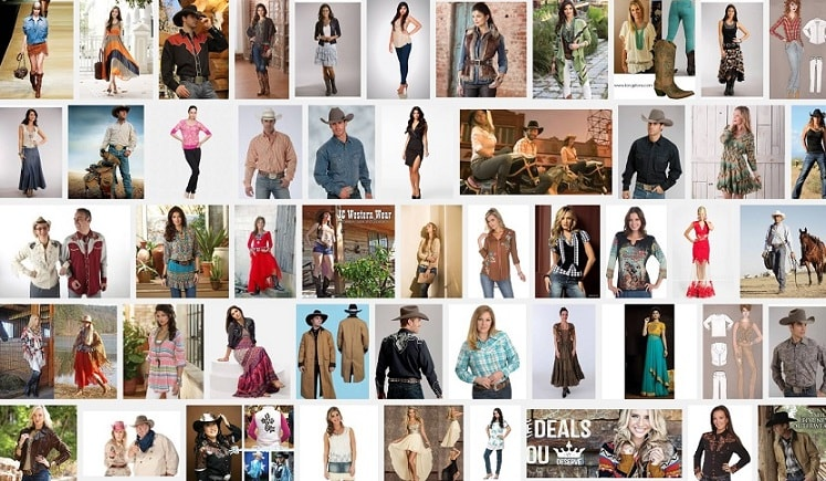 Western Wear Clothing Terminology